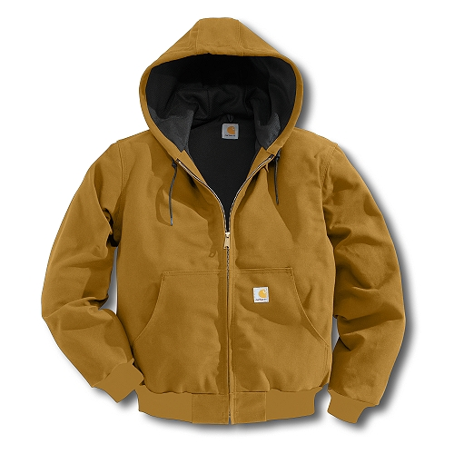 Carhartt Style #: J131 Men�s Duck Active Jac/Thermal Lined J13100